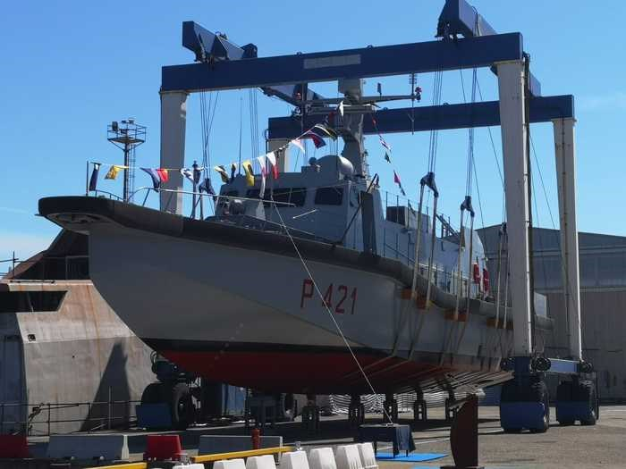 """The vessel """"Tullio Tedeschi"""" has been launched in Messina"""